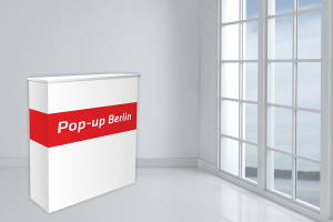 Pop-up Systems Counter London - Stand sampling drept